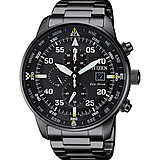 watch chronograph man Citizen Aviator CA0695-84E