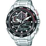 watch chronograph man Citizen Eco-Drive JW0124-53E