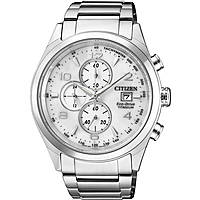 watch chronograph man Citizen Super Titanio CA0650-82A