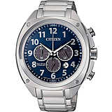 watch chronograph man Citizen Super Titanio CA4310-54L