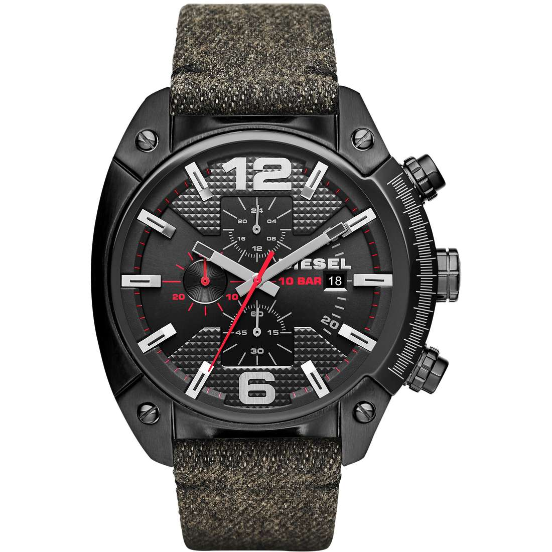 watch chronograph man Diesel Overflow DZ4373