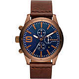 watch chronograph man Diesel Rasp DZ4455