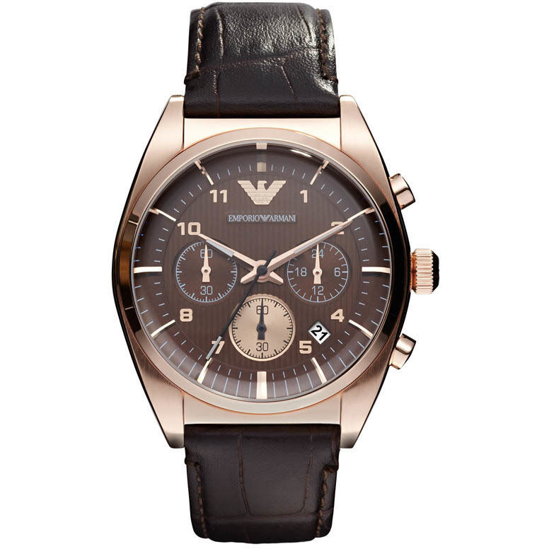 watch chronograph man Emporio Armani AR0371