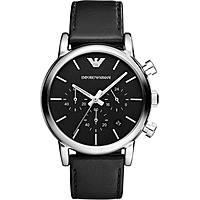 watch chronograph man Emporio Armani Fall 2013 AR1733