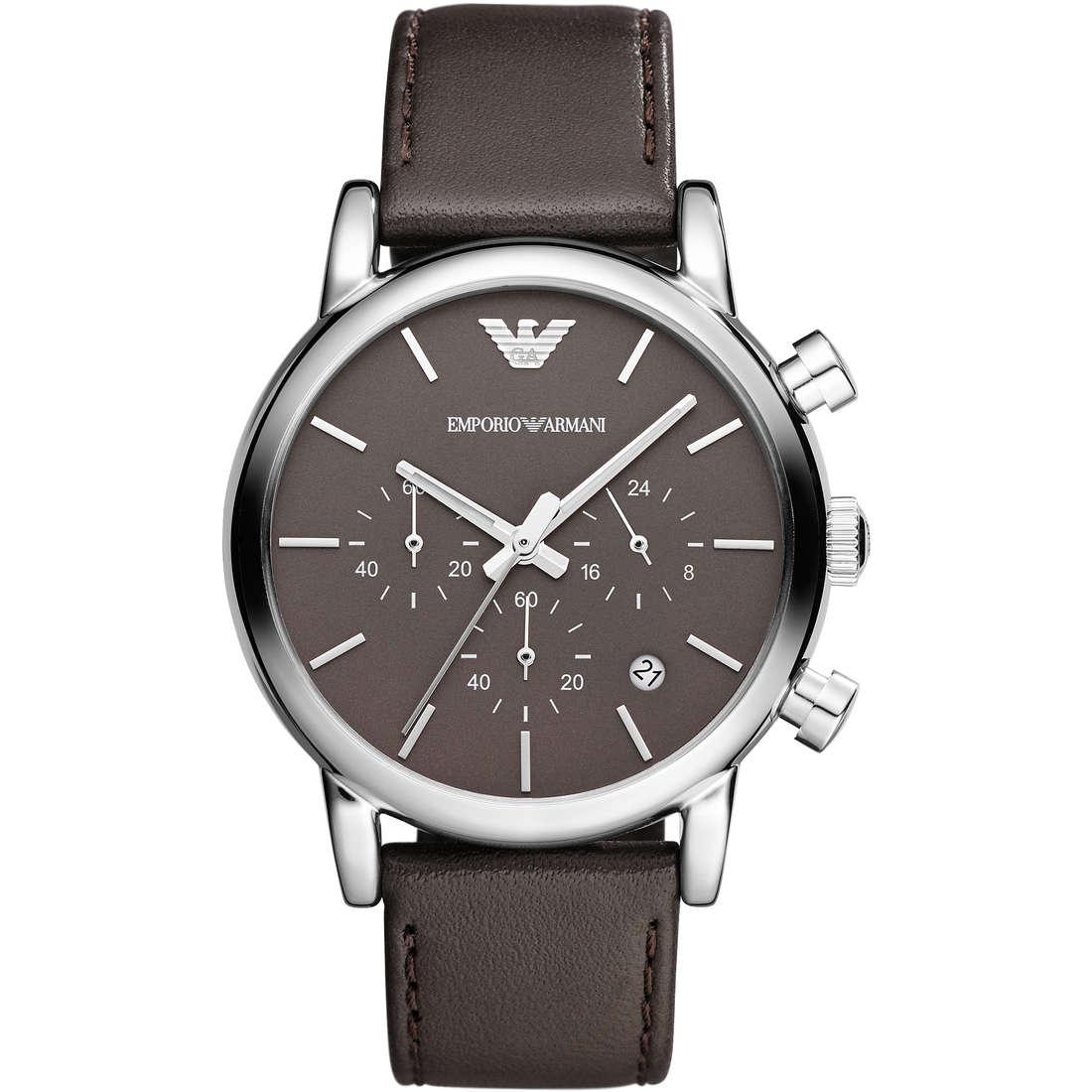 watch chronograph man Emporio Armani Fall 2013 AR1734