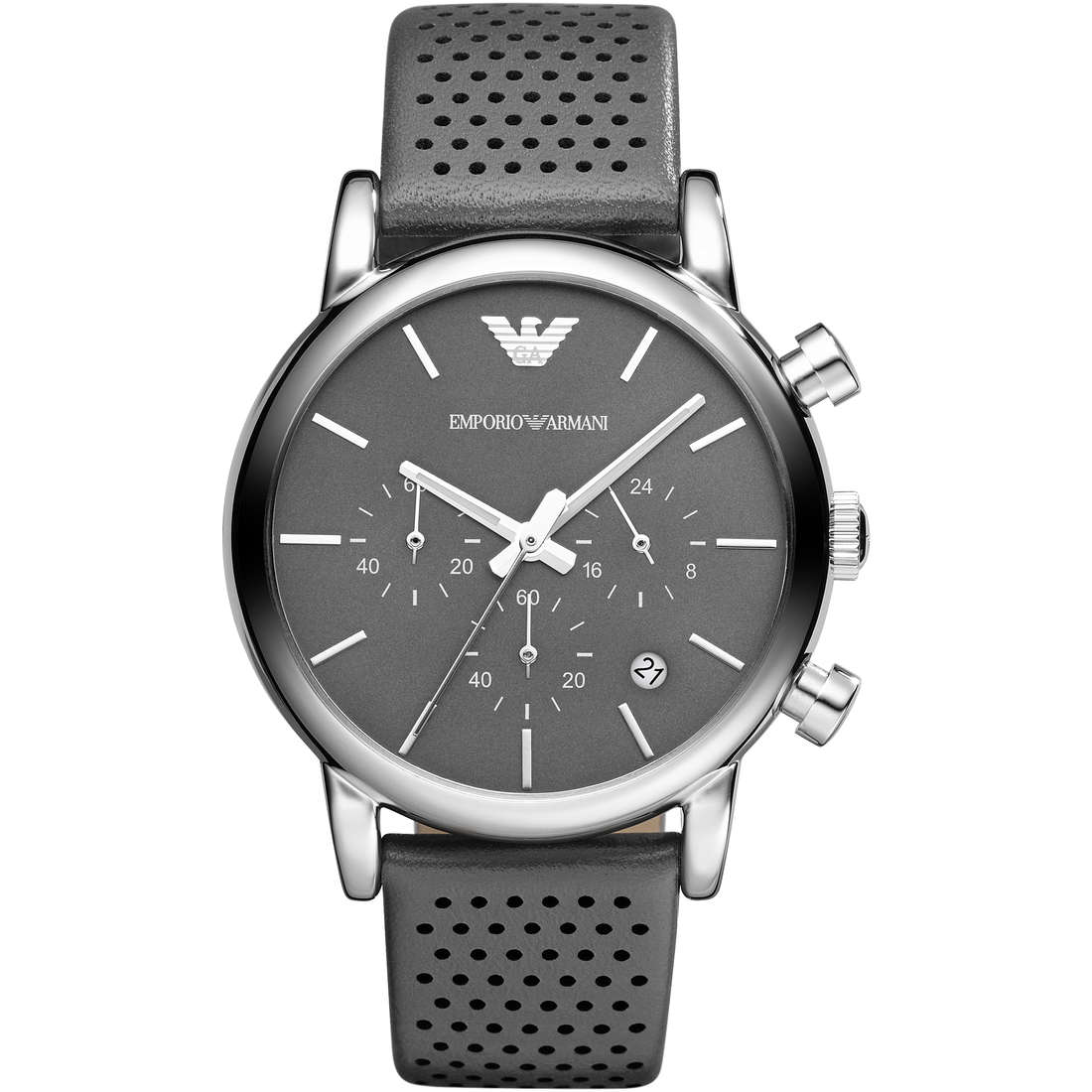watch chronograph man Emporio Armani Fall 2013 AR1735
