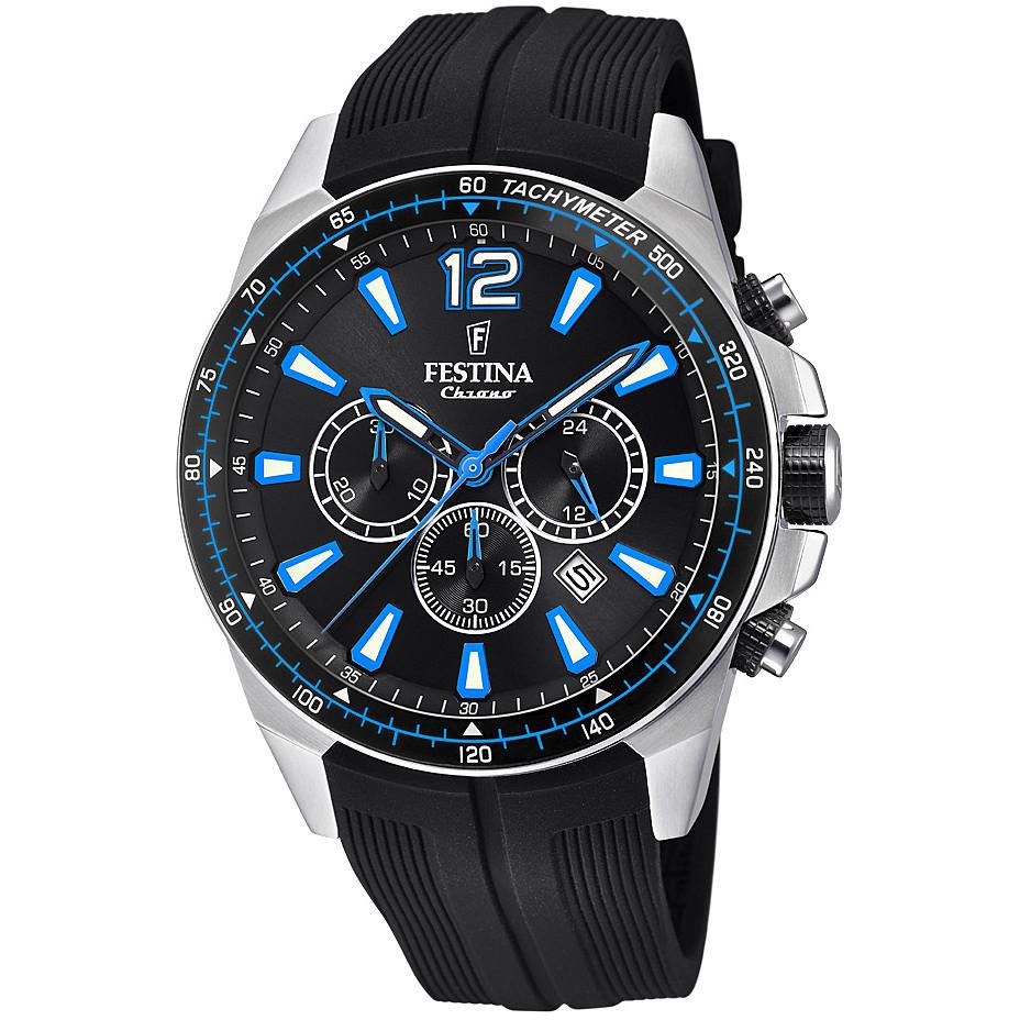 watch chronograph man Festina The Originals F20376 2 chronographs ... 63e15b75bb