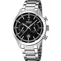 watch chronograph man Festina Timeless Chronograph F16826/3