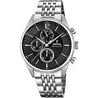 watch chronograph man Festina Timeless Chronograph F20285/4