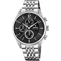 watch chronograph man Festina Timeless Chronograph F20285/4