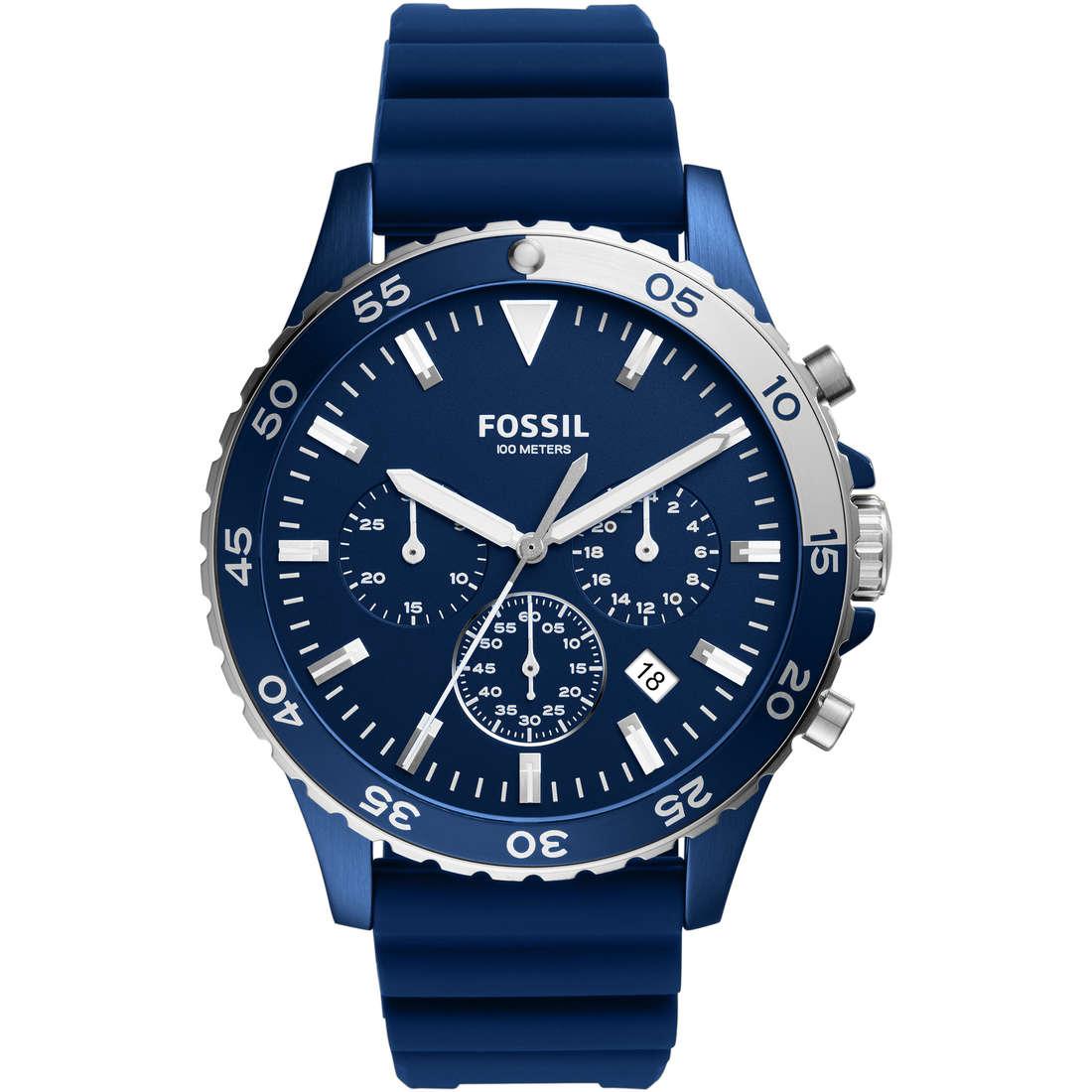 watch chronograph man Fossil CH3054