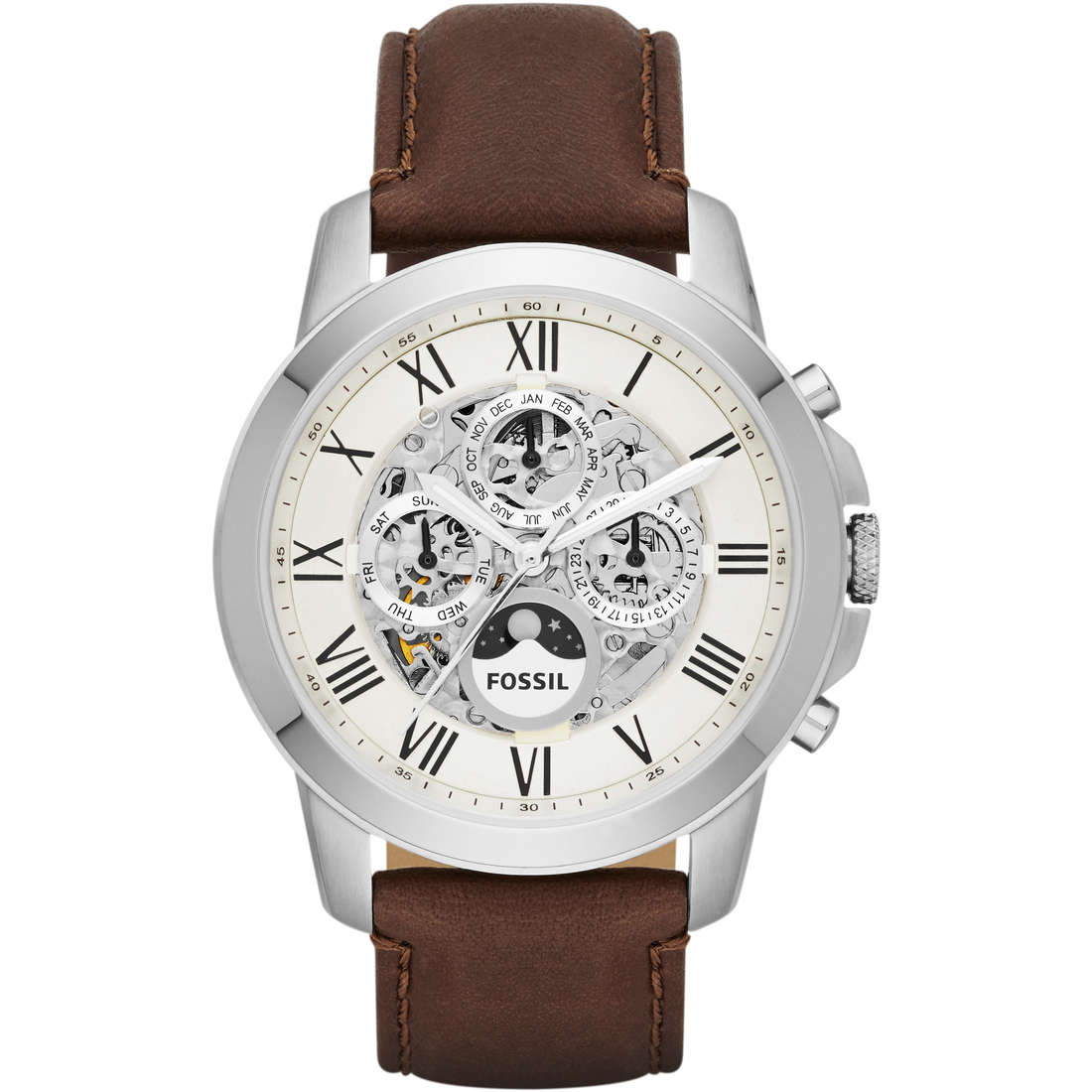 watch chronograph man Fossil ME3027