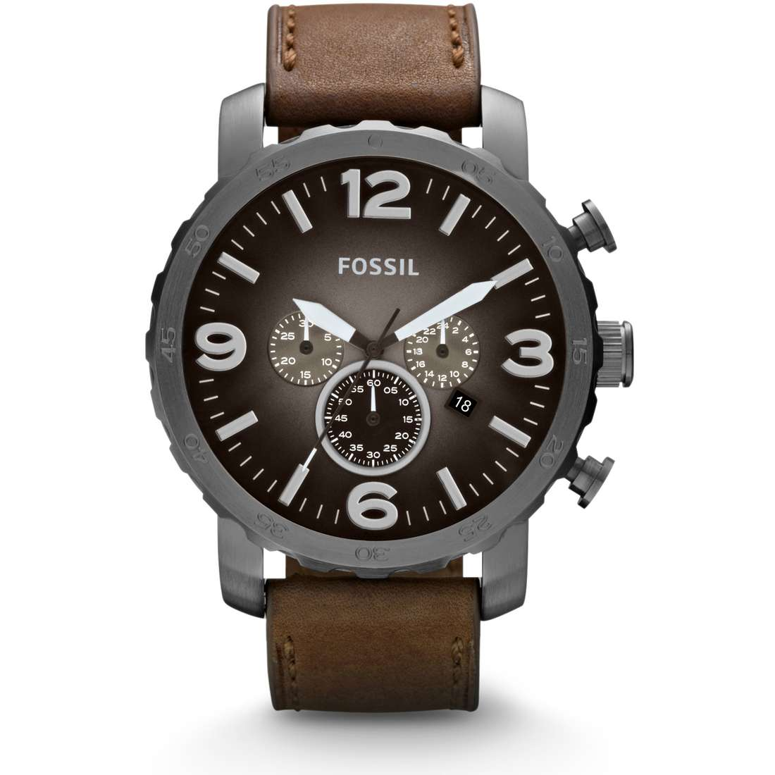 watch chronograph man Fossil Nate JR1424