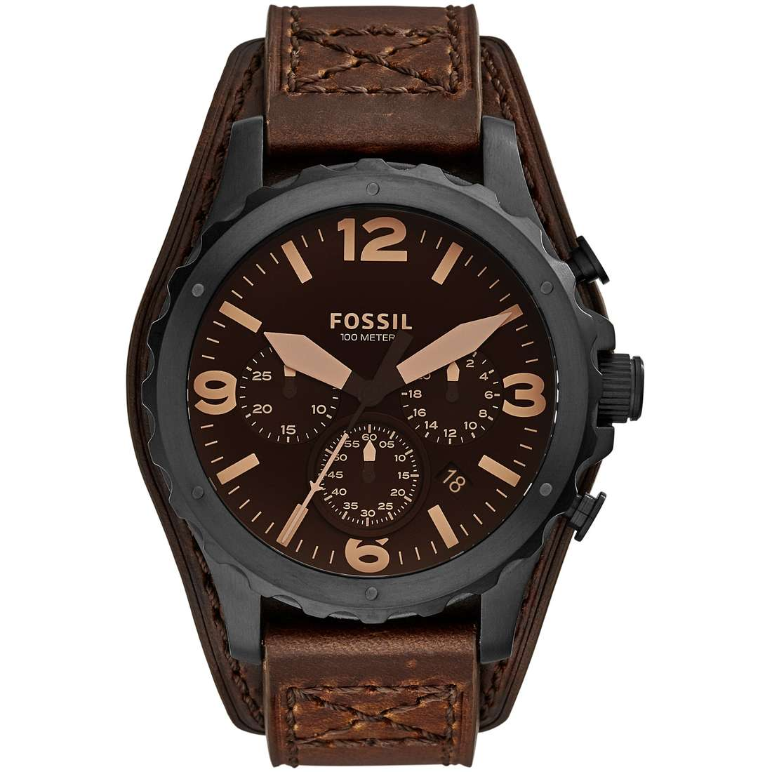 watch chronograph man Fossil Nate JR1511