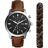 watch chronograph man Fossil Townsman FS5394SET