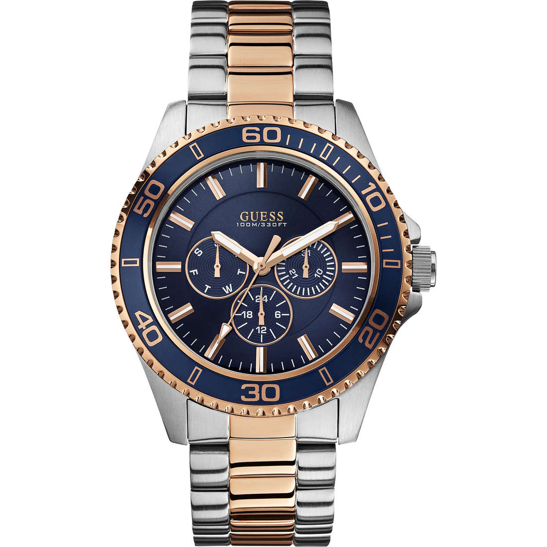 watch chronograph man Guess Chaser W0172G3