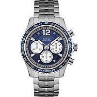 watch chronograph man Guess Fleet W0969G1