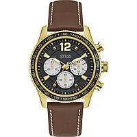 watch chronograph man Guess Fleet W0970G2