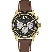 watch chronograph man Guess Fleet W0970G2