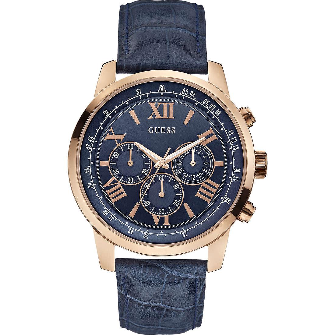 watch chronograph man Guess Horizon W0380G5