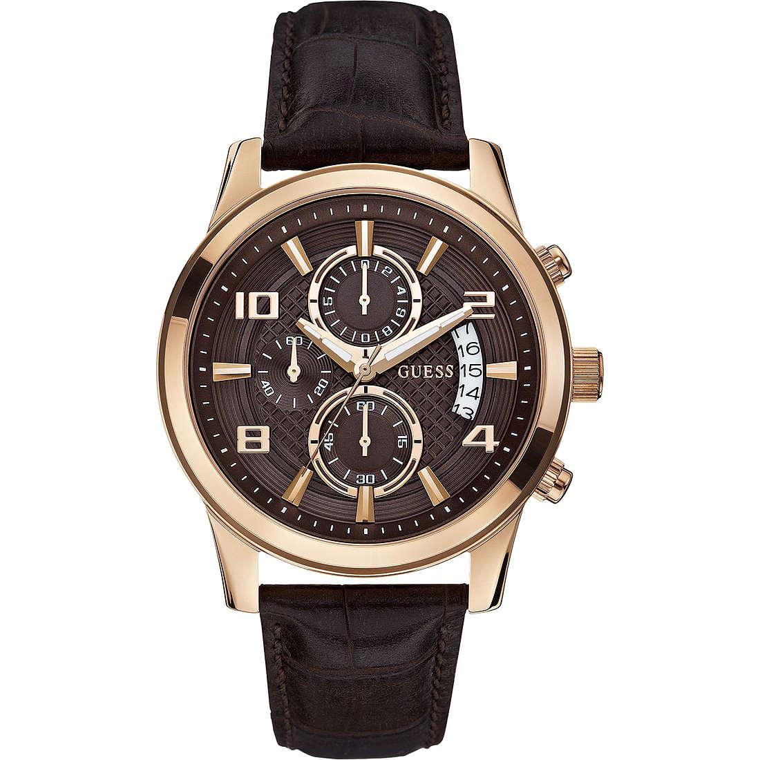 watch chronograph man Guess W0076G4