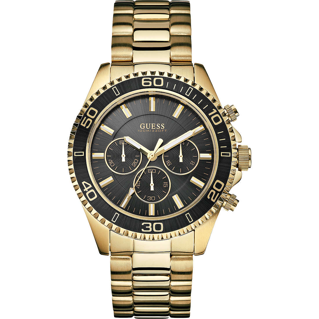 watch chronograph man Guess W0170G2