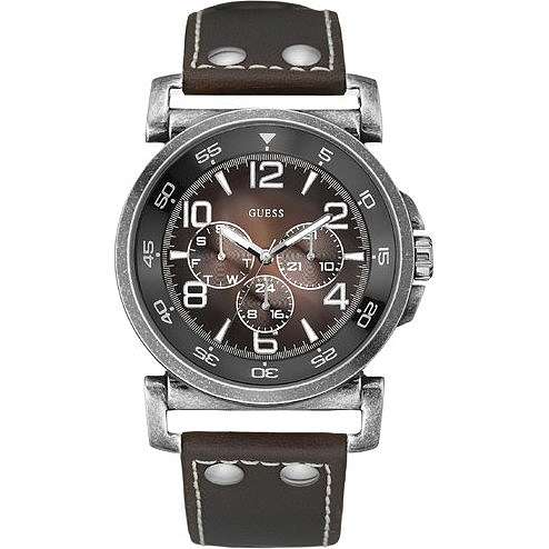 watch chronograph man Guess W11099G2