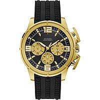 watch chronograph man Guess W1115G1