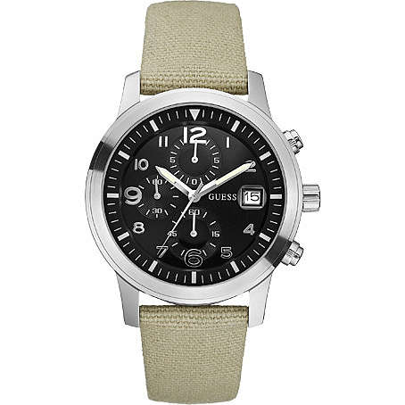 watch chronograph man Guess W11163G1