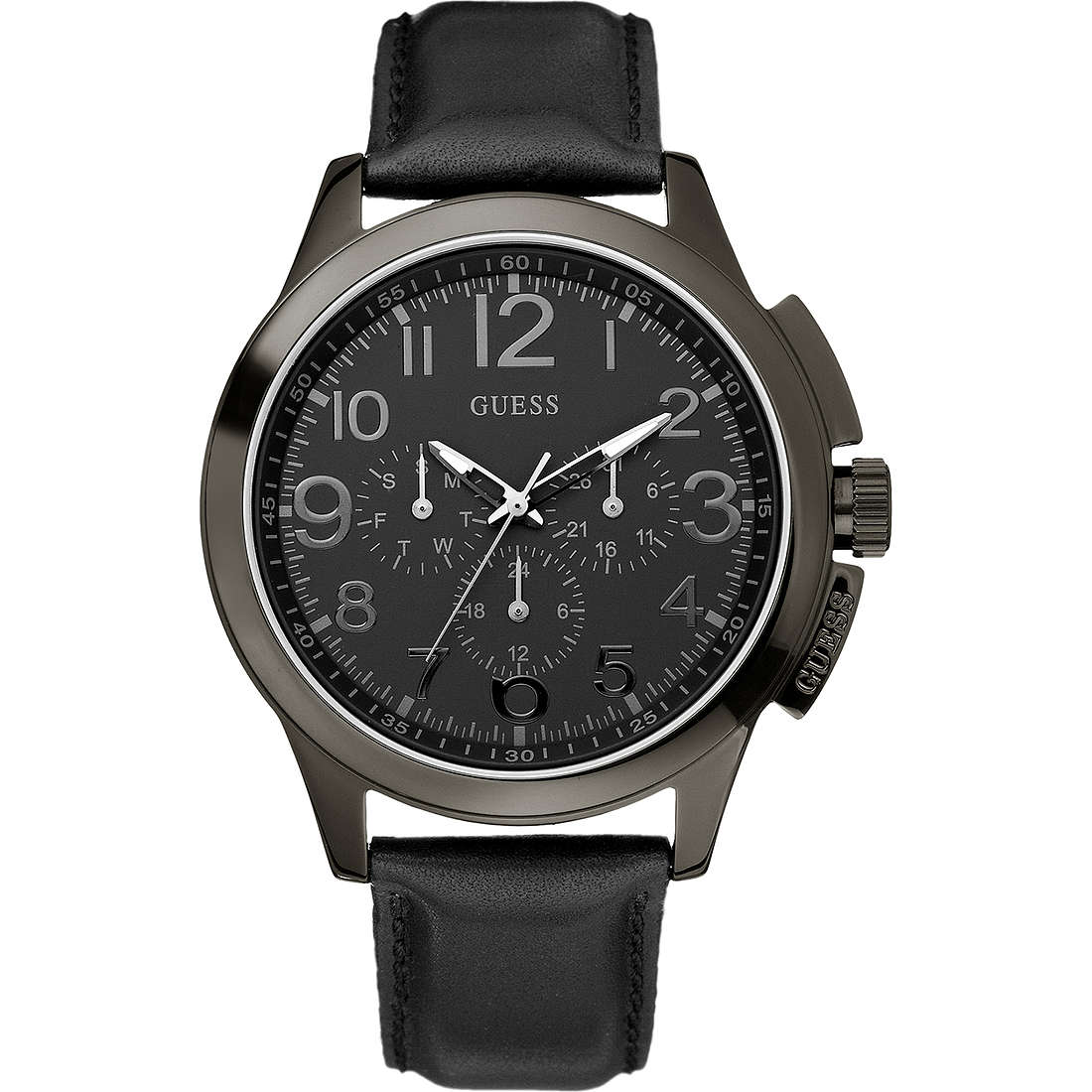 watch chronograph man Guess W11585G1