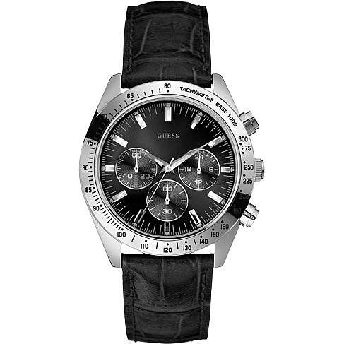 watch chronograph man Guess W12004G1