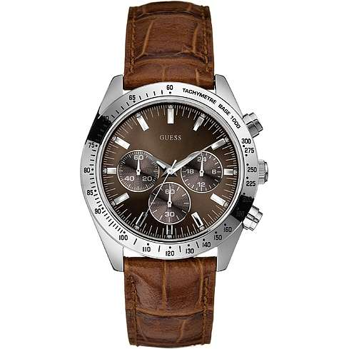 watch chronograph man Guess W12004G2