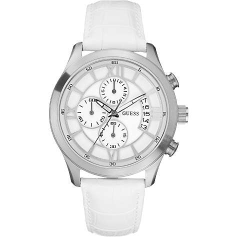 watch chronograph man Guess W12101G1