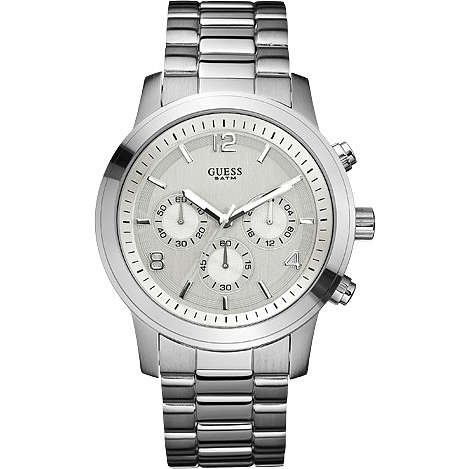 watch chronograph man Guess W12605L1