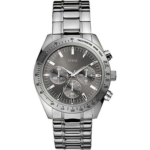 watch chronograph man Guess W13001G1