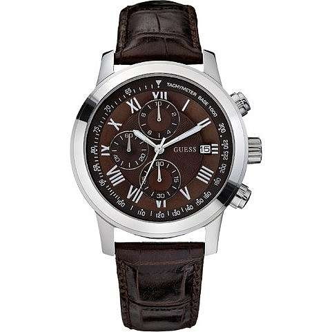 watch chronograph man Guess W13087G2