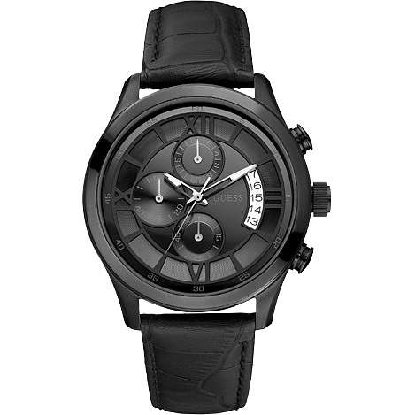 watch chronograph man Guess W14052G1