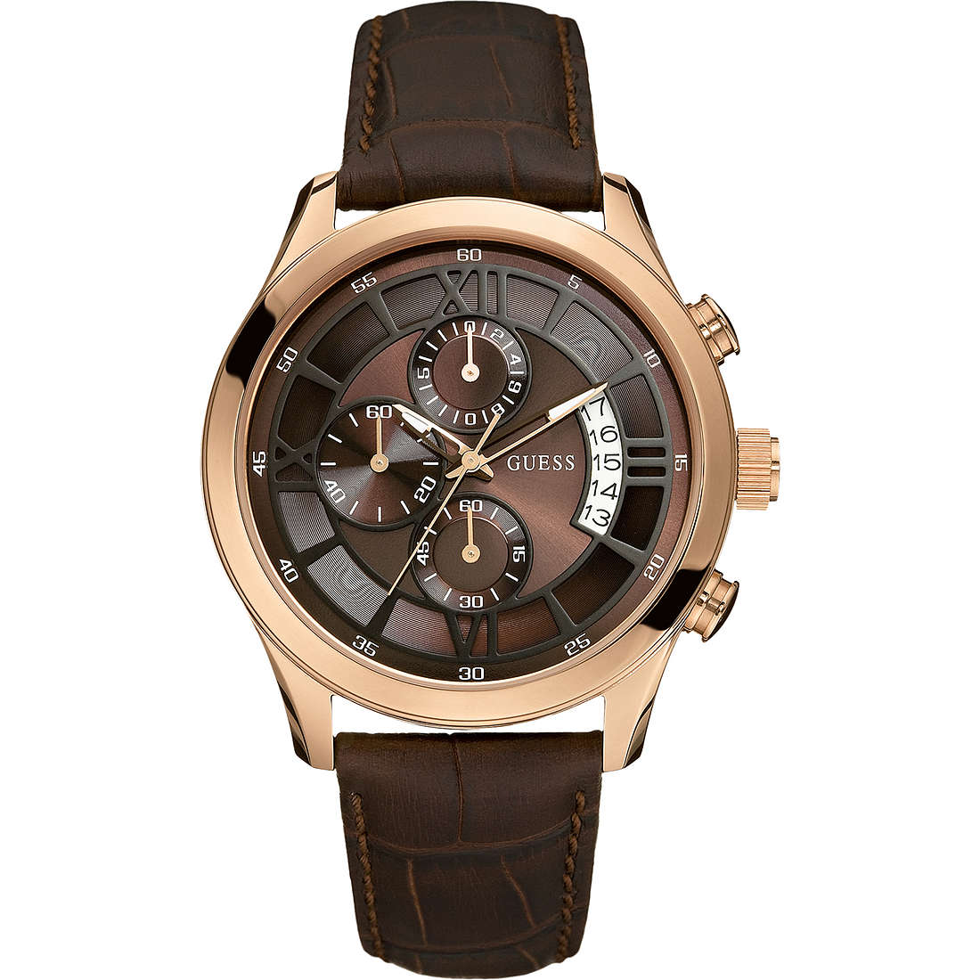 watch chronograph man Guess W14052G2