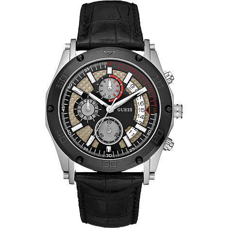 watch chronograph man Guess W16570G1