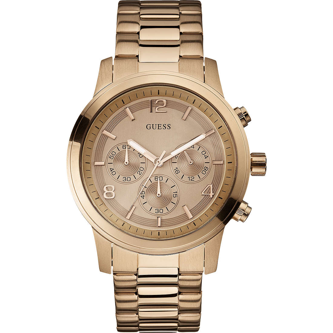watch chronograph man Guess W17004L1
