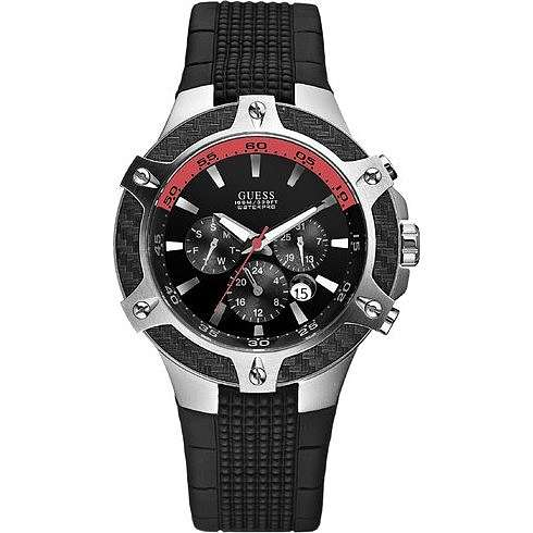 watch chronograph man Guess W17521G1