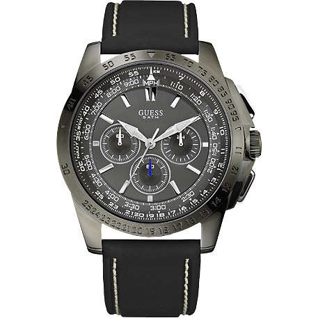 watch chronograph man Guess W18539G1
