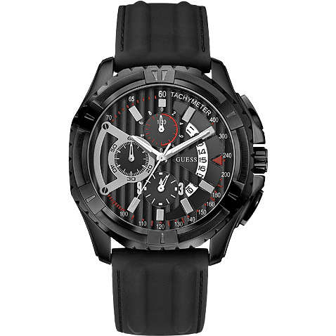 watch chronograph man Guess W18540G1