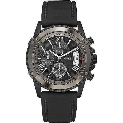 watch chronograph man Guess W18542G2