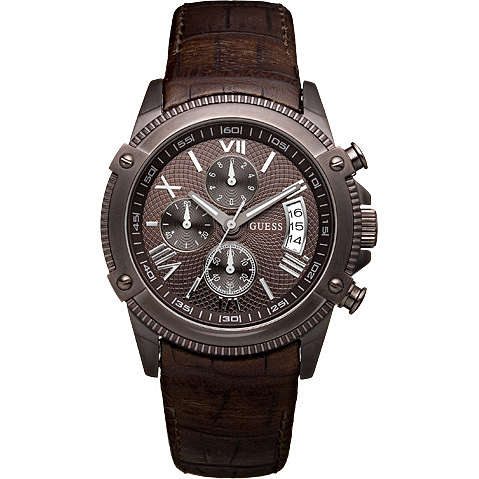 watch chronograph man Guess W18543G1