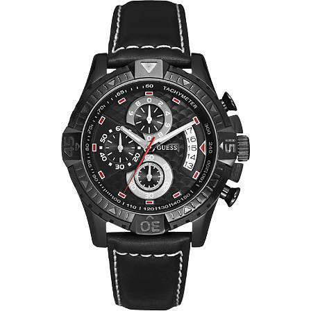 watch chronograph man Guess W18547G1