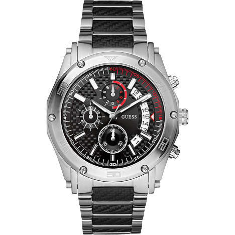 watch chronograph man Guess W22519G1