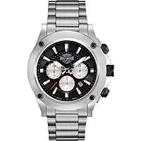 watch chronograph man Harley Davidson 78B126