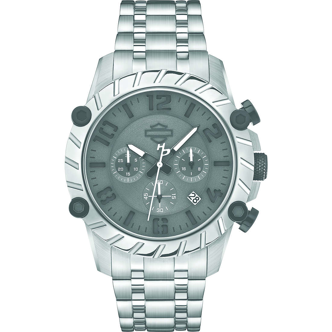 watch chronograph man Harley Davidson 78B133