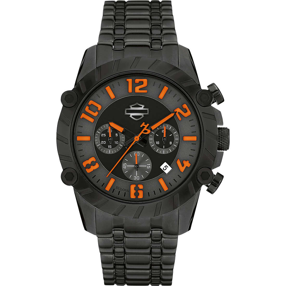 watch chronograph man Harley Davidson 78B137
